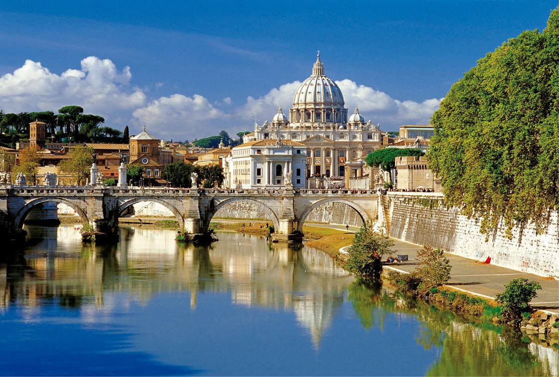 Puzzle Trefl El Vaticano, Roma, Italia de 500 Piezas