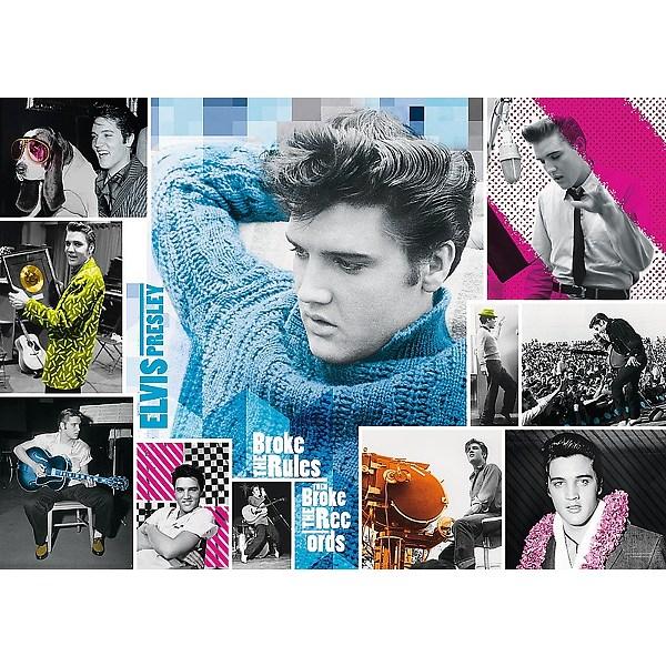 Puzzle Trefl Elvis Presley, Siempre Joven 1000 Piezas