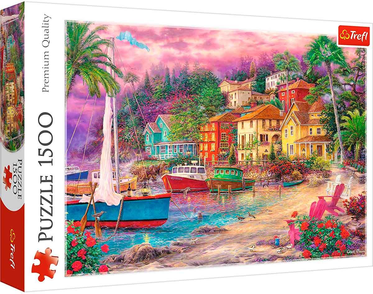 Puzzle Trefl En Costas Doradas de 1500 Piezas