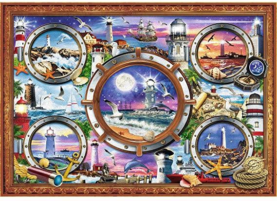 Puzzle Trefl Faros de 1000 Piezas