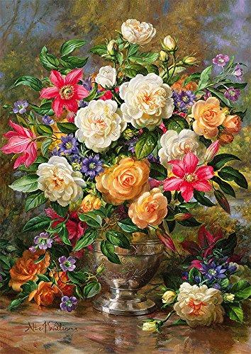 Puzzle Trefl Flores para la Reina Elisabeth de 4000 Piezas