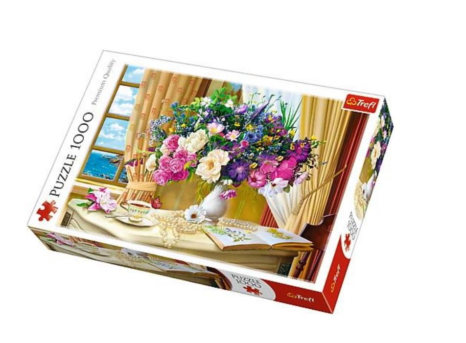 Puzzle Trefl Flores por la Mañana de 1000 Piezas