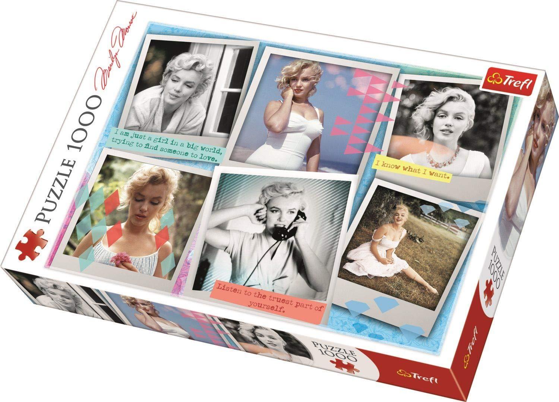 Puzzle Trefl Fotografías de Marilyn Monroe 1000 Piezas