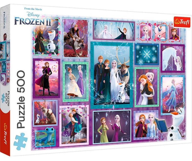 Puzzle Trefl Frozen 2 de 500 Piezas