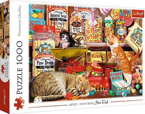 Puzzle Trefl Golosinas de Gatos de 1000 Piezas