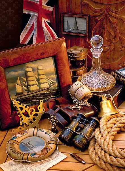 Puzzle Trefl Histórias de Navegación de 3000 Pieza