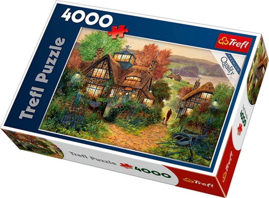 Puzzle Trefl Hogar de Descanso de Marineros de 4000 Piezas