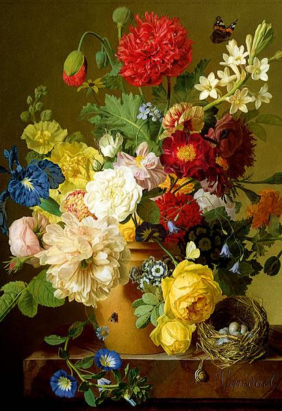 Puzzle Trefl Jarrón de Flores Variadas de 1500 Piezas