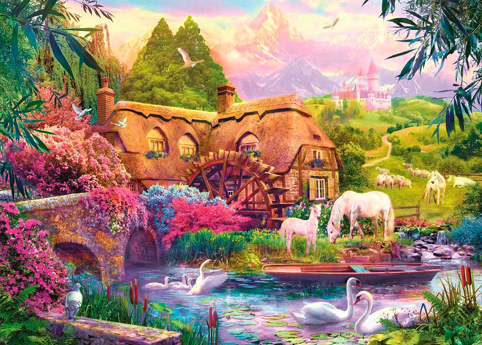 Puzzle Trefl La Casa de las Hadas de 1000 Piezas
