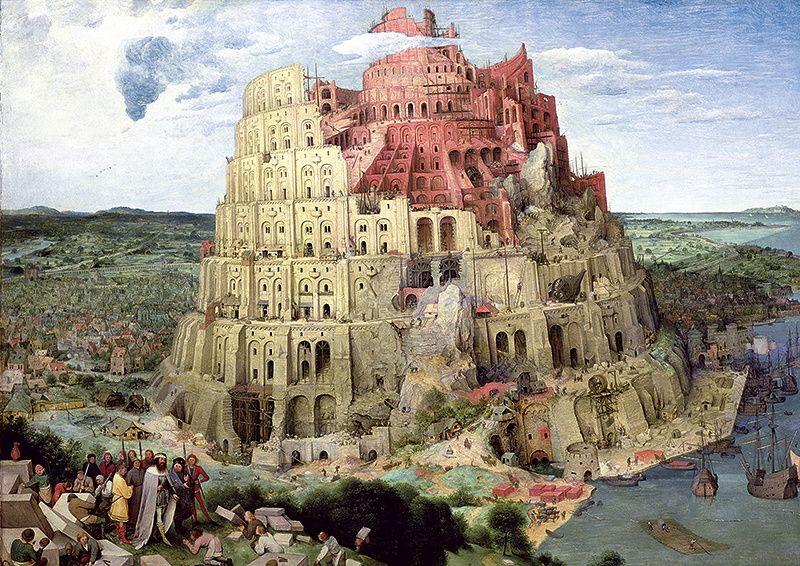 Puzzle Trefl La Torre de Babel de 4000 Piezas