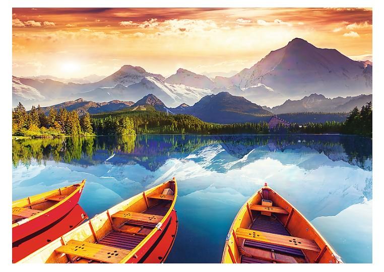 Puzzle Trefl Lago de Cristal de 2000 Piezas