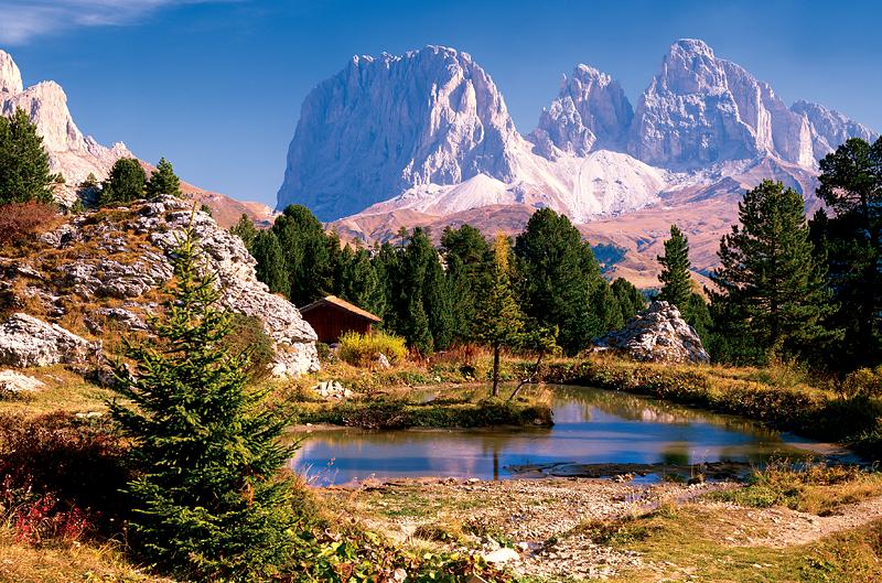 Puzzle Trefl Lago, Dolomitas de 3000 Piezas