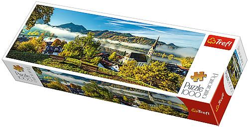 Puzzle Trefl Lago Schliersee de 1000 Piezas