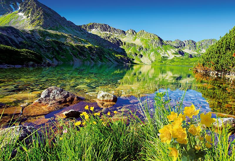 Puzzle Trefl Lago Tártaro de 1500 Piezas