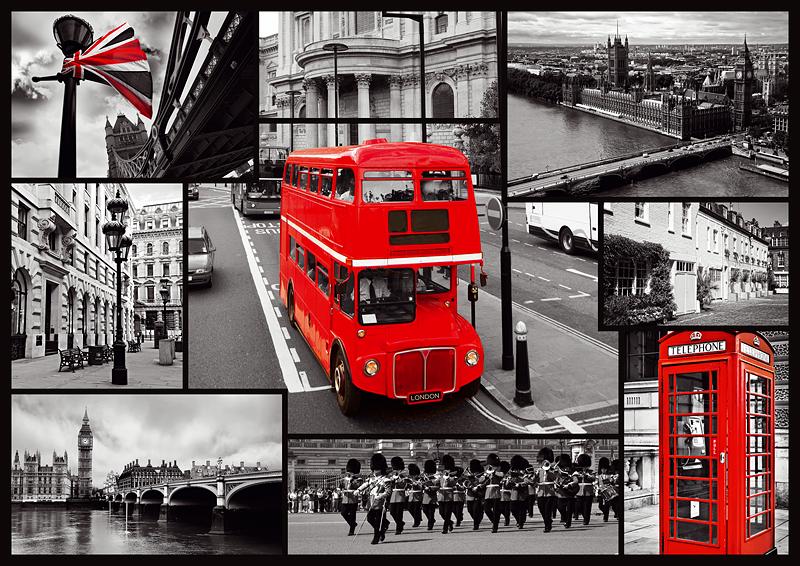 Puzzle Trefl Londres de 1000 Piezas