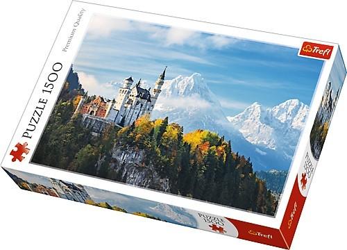 Puzzle Trefl Los Alpes Bávaros de 1500 Piezas