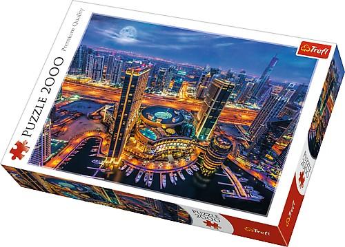 Puzzle Trefl Luces de Dubai de 2000 Piezas