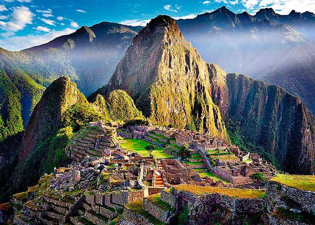 Puzzle Trefl Machu Picchu de 500 piezas