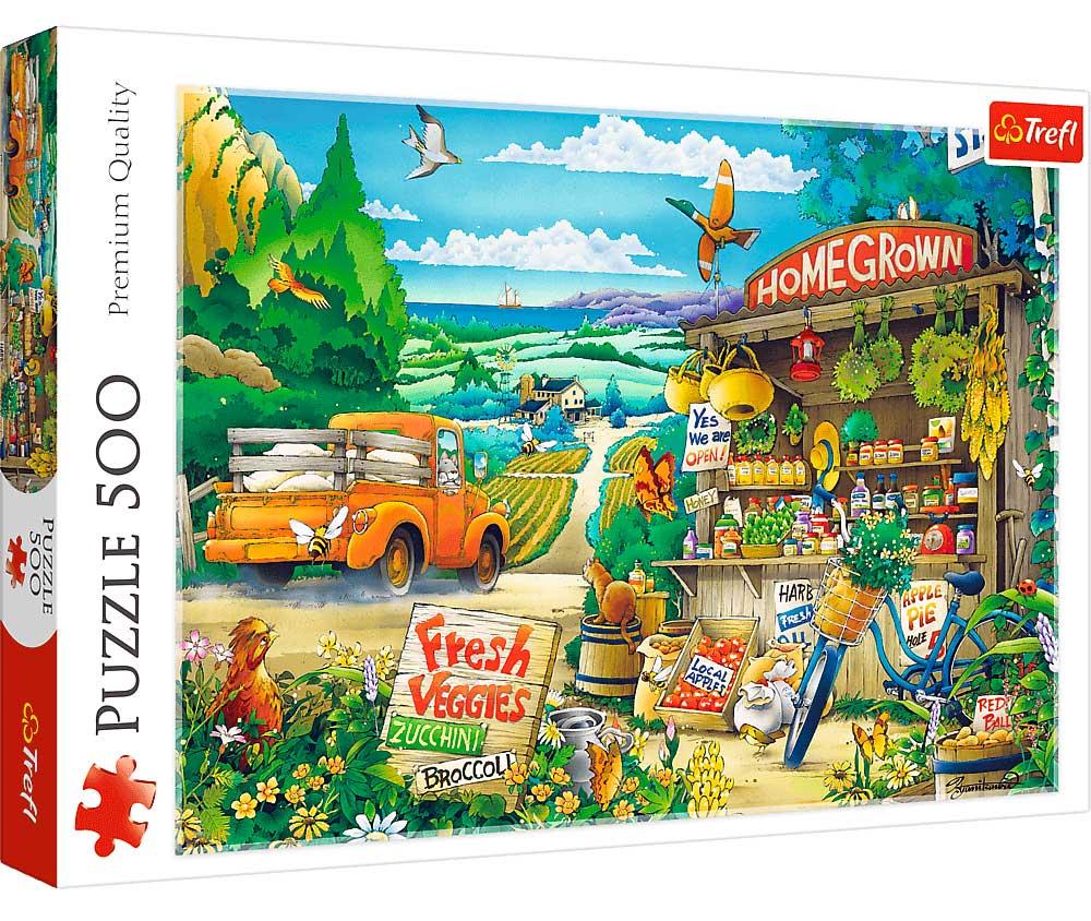 Puzzle Trefl Mañana Campestre de 500 Piezas
