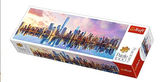 Puzzle Trefl Manhattan, Nueva York de 1000 Piezas
