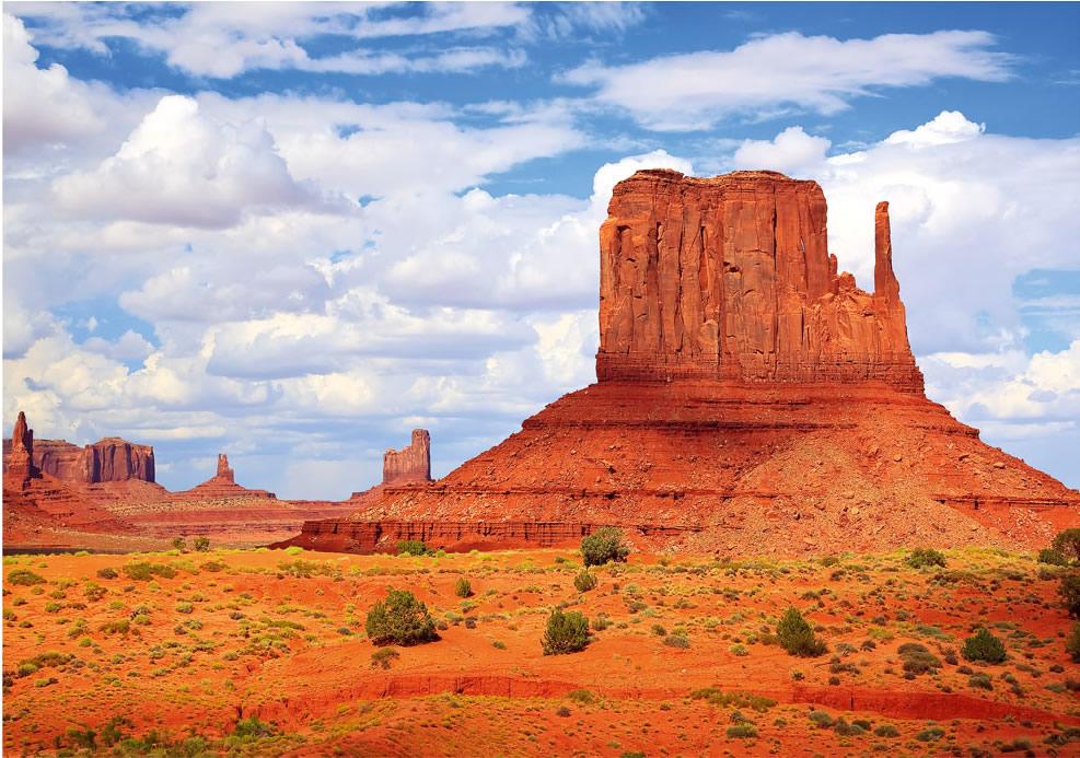 Puzzle Trefl Monument Valley, Estados Unidos de 1000 Piezas