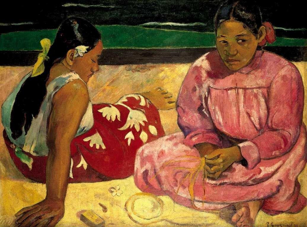 Puzzle Trefl Mujeres de Tahití en la PLaya de 1000 Piezas