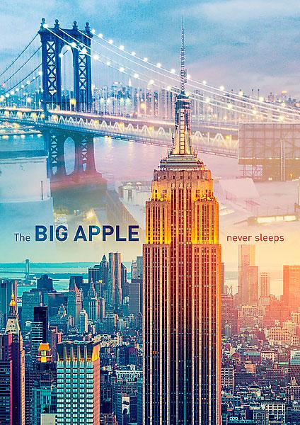 Puzzle Trefl Nueva York al Atardecer de 1000 Piezas