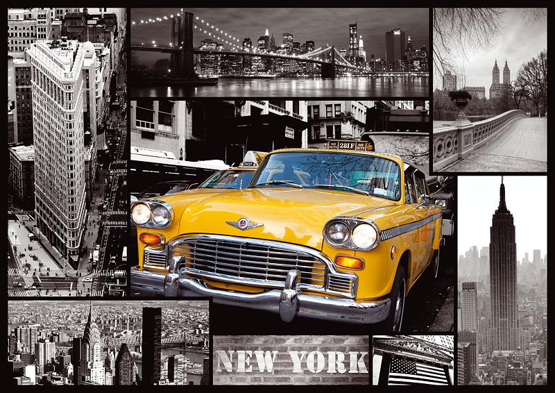 Puzzle Trefl Nueva York, Taxi de 1000 Piezas