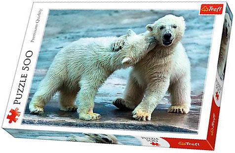 Puzzle Trefl Osos Polares de 500 Piezas