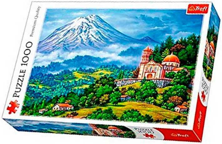 Puzzle Trefl Paisaje con Volcán de 1000 Piezas