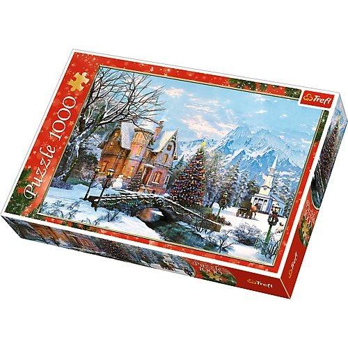 Puzzle Trefl Paisaje de Invierno de 1000 Piezas