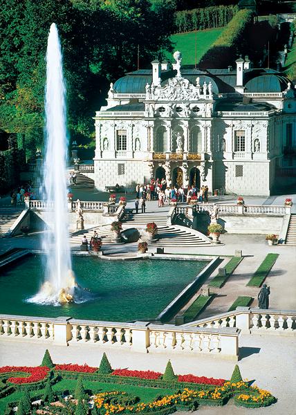 Puzzle Trefl Palacio Linderhof, Alemania de 2000 Piezas
