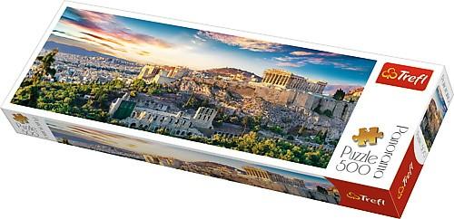 Puzzle Trefl Panorama Acrópolis, Atenas de 500 Pzs