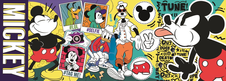 Puzzle Trefl Panorama Mickey Mouse, La Leyenda de 500 Pzs