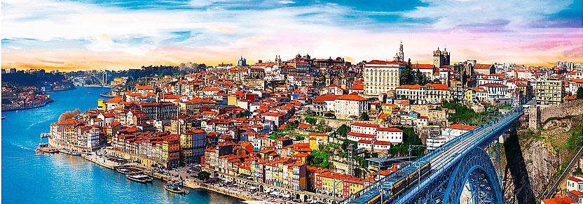 Puzzle Trefl Panorama Oporto, Portugal de 500 Pzs