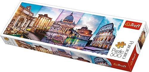 Puzzle Trefl Panorama Viajando a Italia de 500 Pzs