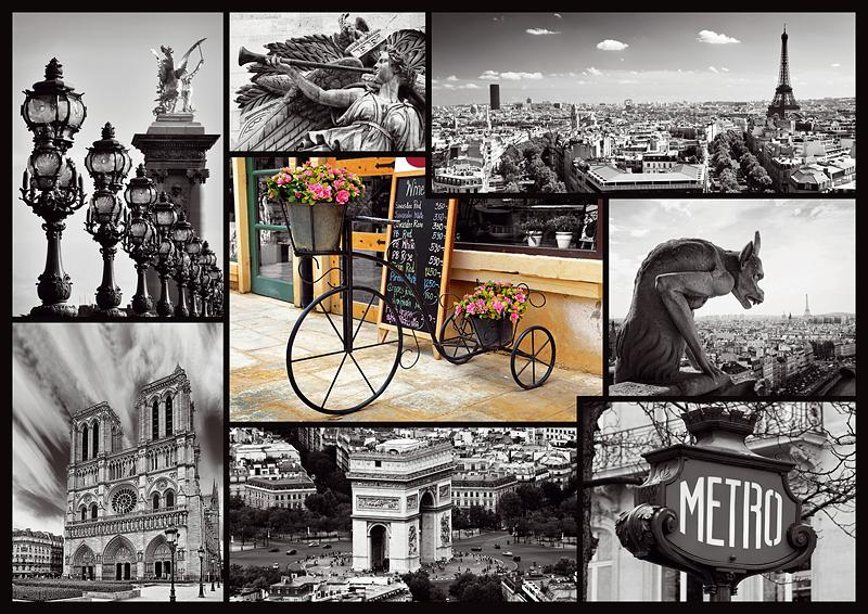 Puzzle Trefl Paris de 1000 Piezas