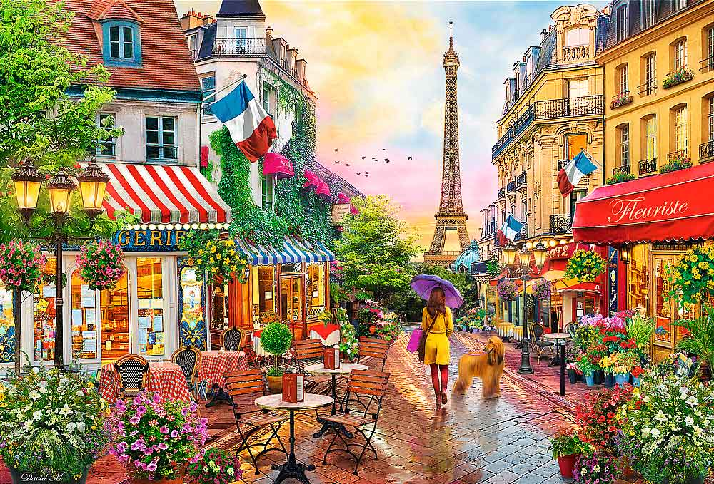 Puzzle Trefl París Encantador de 1500 Piezas