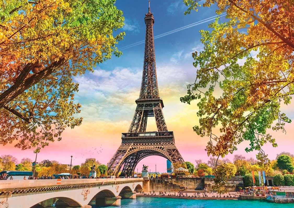 Puzzle Trefl París Romántico de 500 Piezas