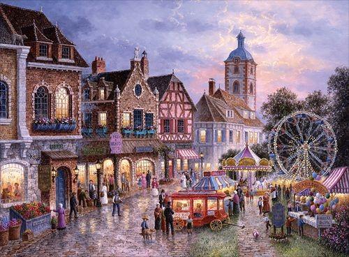 Puzzles Trefl Puzzle De 3000 Piezas Parque De Atracciones