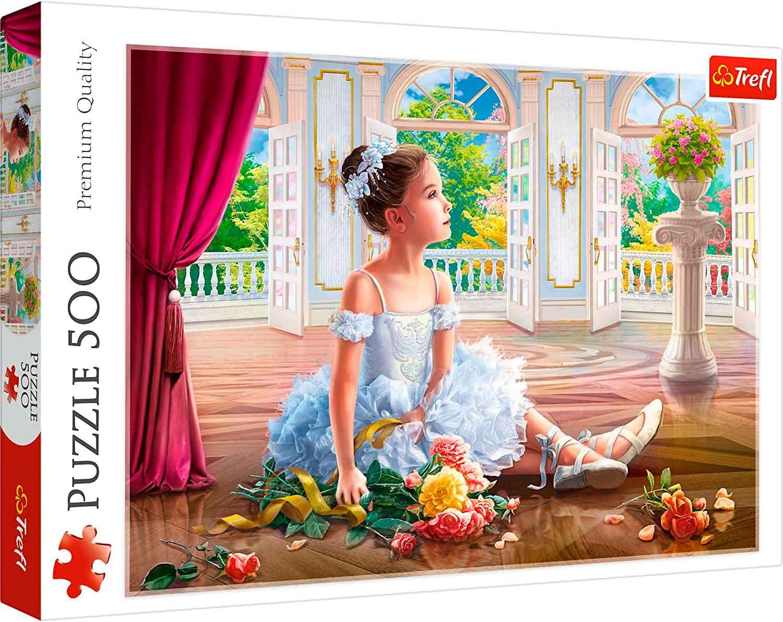 Puzzle Trefl Pequeña Bailarina de 500 Piezas