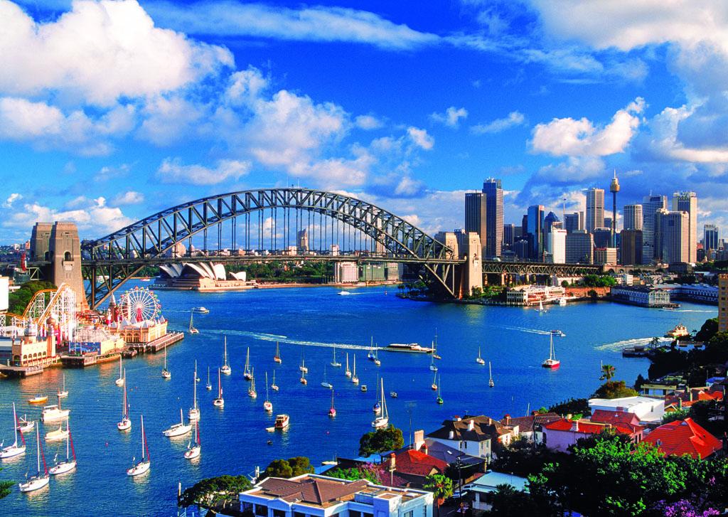 Puzzle Trefl Port Jackson, Sydney de 1000 Piezas