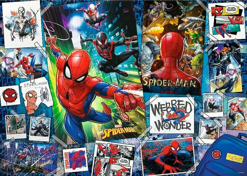 Puzzle Trefl Posters de Spiderman de 500 Piezas