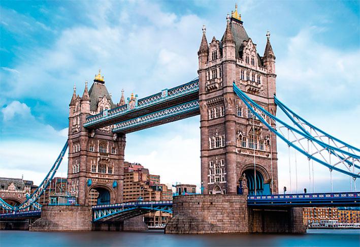 Puzzle Trefl Puente de la Torre de Londres de 1500 Piezas