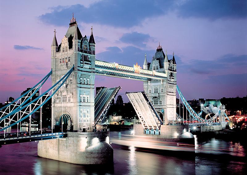 Puzzle Trefl Puente de las Torres de Londres de 1000 Piezas