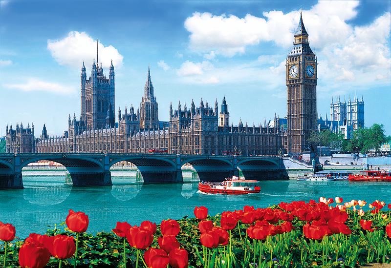 Puzzle Trefl Puente de Westminster y el Parlamento de Londres de