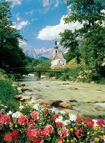 Puzzle Trefl Ramsau, Bavaria, Los Alpes de 3000 Piezas