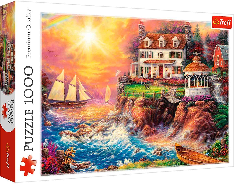 Puzzle Trefl Refugio Pacífico de 1000 Piezas