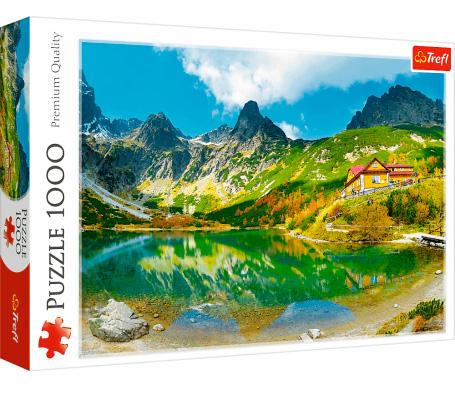 Puzzle Trefl Refugio Sobre el Estanque Verde, Eslovaquia de 1000