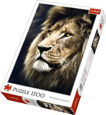 Puzzle Trefl Retrato del León de 1500 Piezas
